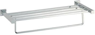 Gadget-Wagon Squaro TowelRack Silver Towel Holder