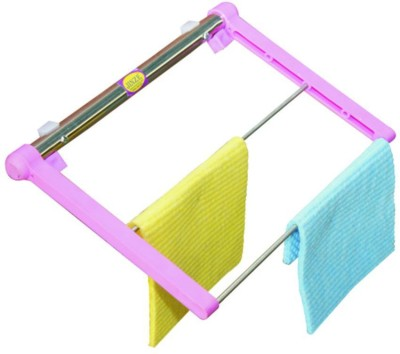 JINZE KTH-30 Pink with Stainless steel wiper holder Towel Holder