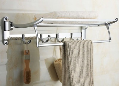 ADDOR FOLDING TOWEL RACK CHROME Towel Holder