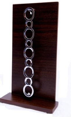 Aryaa A-0080A Brown, Wenge Towel Holder