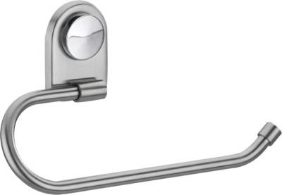 HOMEDECORHD Pure Brass Rings (Glossy Finish) Chrome Towel Holder silver Towel Holder