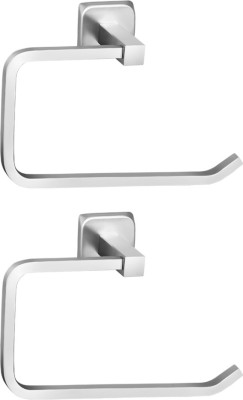 The Interiors interiors 47 silver Towel Holder