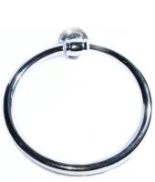 SGB Napkin Ring Round Steel Towel Holder(Brass)