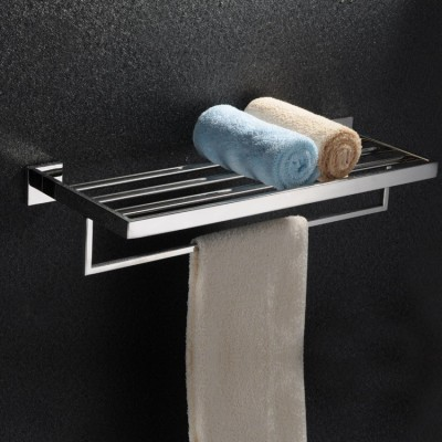 addor square towel rack chrome Towel Holder