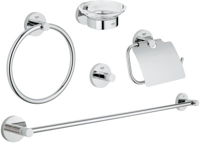 Grohe 40344001 Chrome Finish Towel Holder