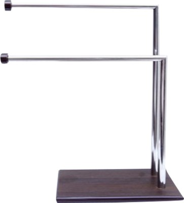 Aryaa A-0029 Wenge, Steel Towel Holder