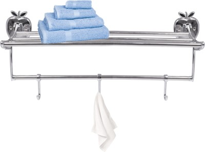 S Decor SDFKTH8 Silver Towel Holder