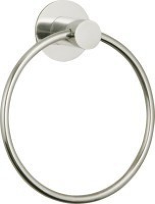 Smchairs 1 Ring Round Sliver Towel Holder