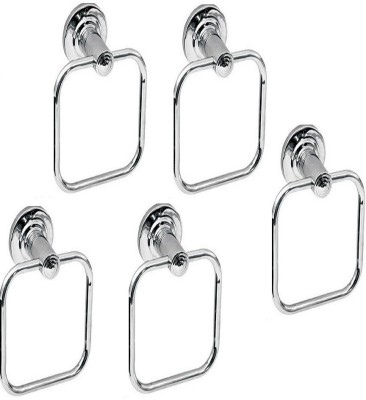 DEVICE IN LION PLM4 SILVER Towel Holder