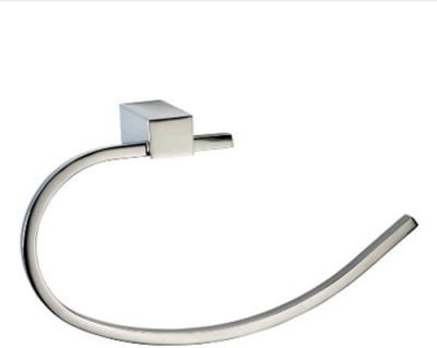 Johnson Bathroom Towel Ring Diva Silver Towel Holder