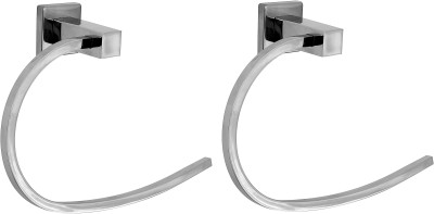 Klaxon Kristal 103 Holder Rail - Ring 9 inch 1 Bar Towel Rod