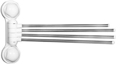 Cosmosgalaxy 9 inch 4 Bar Towel Rod(Plastic, Steel Pack of 1)