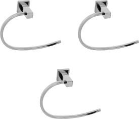 Klaxon Kristal 101 Holder Rail - Ring 3 inch 1 Bar Towel Rod
