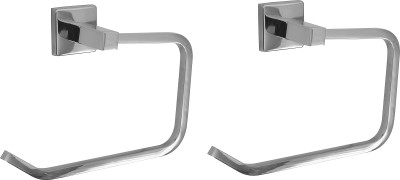 Klaxon Kristal 102 Holder Rail - Ring 7 inch 1 Bar Towel Rod