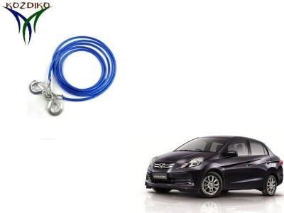 Kozdiko Heavy Duty 7000 Kgs 12MM 4Mtrs for Honda Amaze 4 m Towing Cable