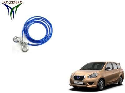 Kozdiko Heavy Duty 7000Kgs 12MM 4Mtrs for Datsun Go Plus 4 m Towing Cable