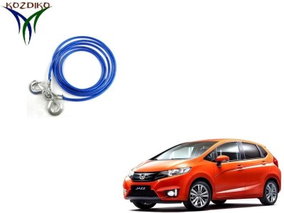 Kozdiko Heavy Duty 7000 kgs 12 MM 4Mtr Tow Rope for Honda New Jazz 4 m Towing Cable