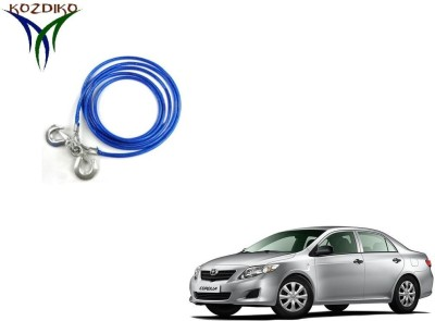 Kozdiko Heavy Duty 7000Kgs 12MM 4Mts for Toyota Corolla 4 m Towing Cable