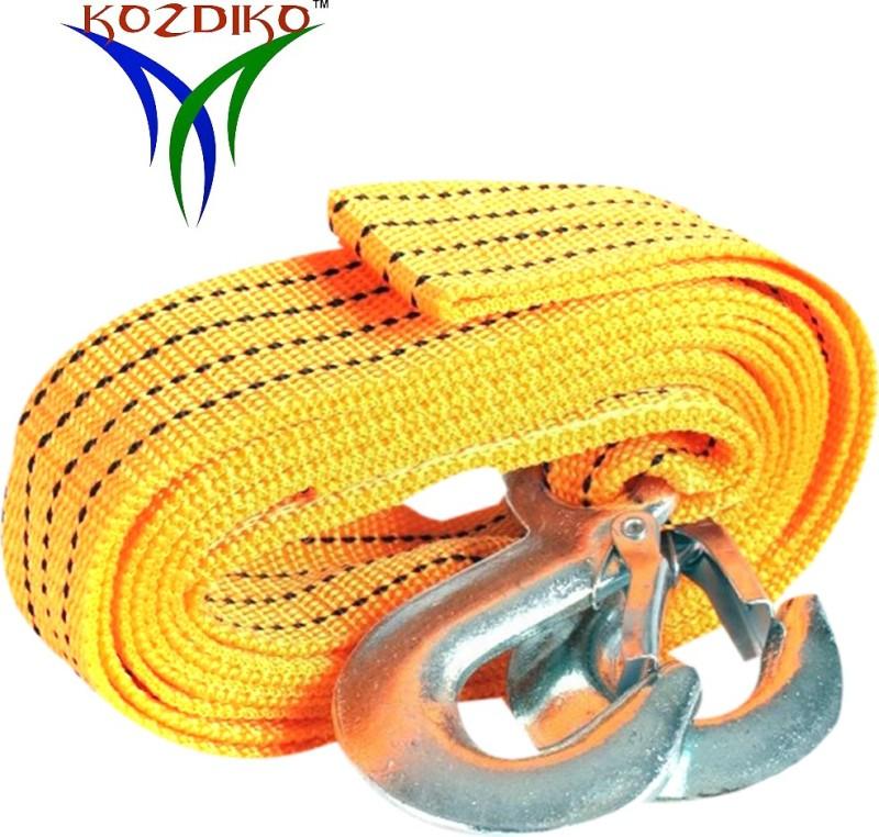 Kozdiko Car Auto Tow Rope Heavy Duty 3 Ton RMA114 3 m Towing Cable(Nylon, 3000 kg Pull Capacity)