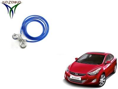 Kozdiko Heavy Duty 7000 kgs 12MM 4Mtrs for Hyundai Elantra 4 m Towing Cable
