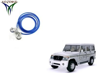 Kozdiko Heavy Duty 7000 Kgs 12MM 4Mtrs for Mahindra Bolero XL 4 m Towing Cable