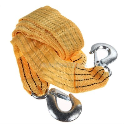 """Influx â""""¢ CAR TRUCK EMERGENCY STRAP WITH HOOKS ROPE PULL HAUL WIRE LINE 3.5 m Towing Cable"""