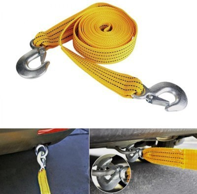 Autosky Car Auto Tow Rope Heavy Duty 3 Ton 2.65Mtr 2.6 m Towing Cable