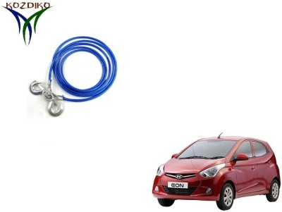Kozdiko Heavy Duty 7000 Kgs 12MM 4Mtrs for Hyundai Eon 4 m Towing Cable