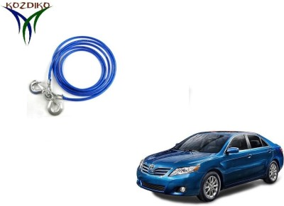 Kozdiko Heavy Duty 7000 Kgs 12MM 4Mts for Toyota Camry 4 m Towing Cable(Steel, 7000 kg Pull Capacity)