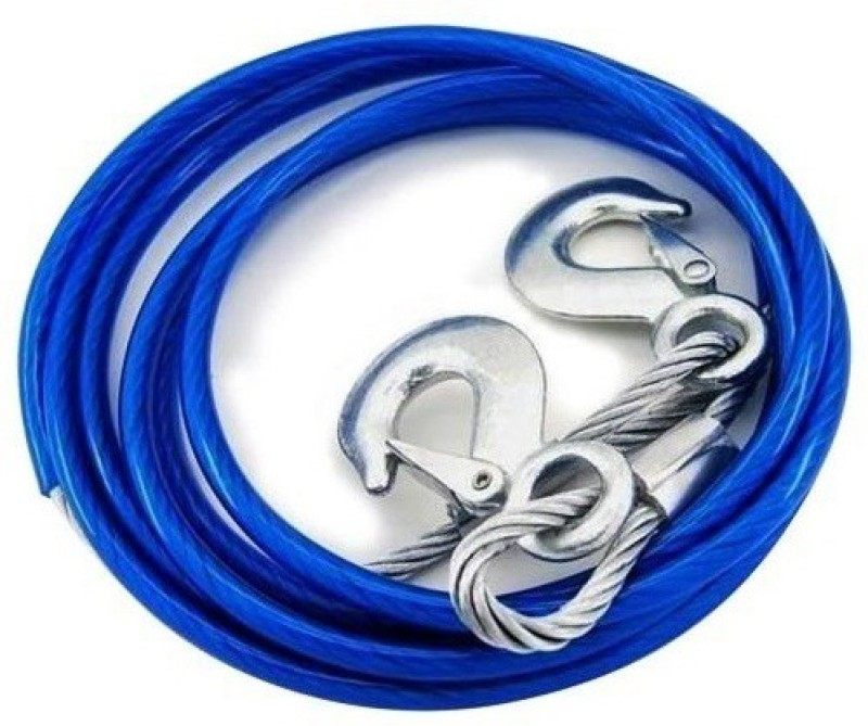 Ultra Fit Super Strong Steel 4 m Towing Cable(Steel, 5000 kg Pull Capacity)