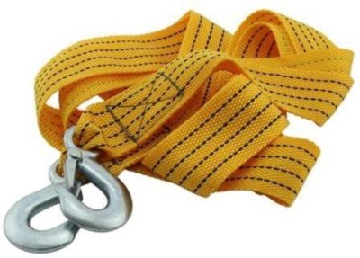 """Influx â""""¢ Heavy Duty Pull Strap Rope Hooks Van Road Recovery 3.5 m Towing Cable"""