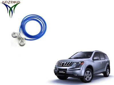 Kozdiko Heavy Duty 7000 kgs 12 MM 4Mtr Tow Rope for Mahindra XUV 500 4 m Towing Cable(Steel, 7000 kg Pull Capacity)