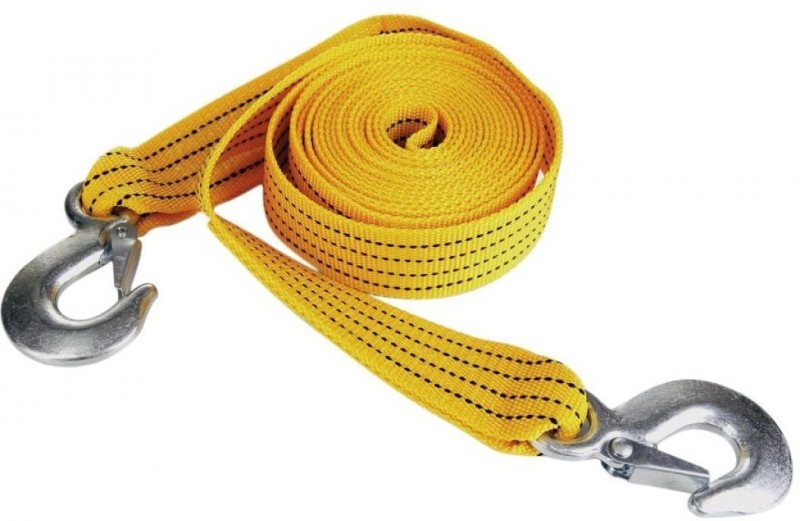 Ultra Fit Towing jerks Absorbent 4 m Towing Cable(Nylon, 5000 kg Pull Capacity)