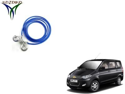 Kozdiko Heavy Duty 7000Kgs 12MM 4Mtrs for Chevrolet Enjoy 4 m Towing Cable