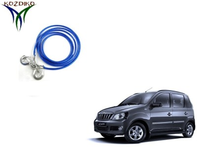Kozdiko Heavy Duty 7000 kgs 12 MM 4Mtr Tow Rope for Mahindra Quanto 4 m Towing Cable(Steel, 7000 kg Pull Capacity)
