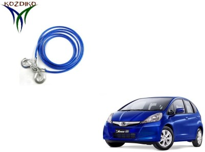 Kozdiko Heavy Duty 7000 Kgs 12MM 4 Mtrs for Honda Old Jazz 4 m Towing Cable