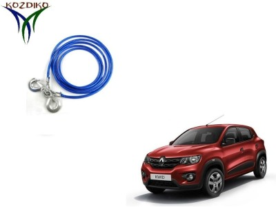Kozdiko Heavy Duty 7000Kgs 12MM 4Mtrs for Renault Kwid 4 m Towing Cable