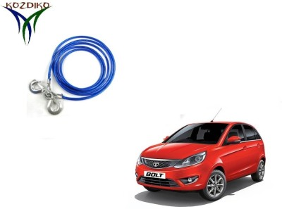 Kozdiko Heavy Duty 7000 Kgs 12MM 4Mtrs for Tata Bolt 4 m Towing Cable