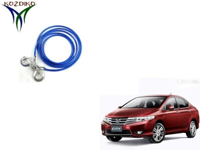 Kozdiko Heavy Duty 7000Kgs 12MM 4Mtrs for Honda City Old 4 m Towing Cable