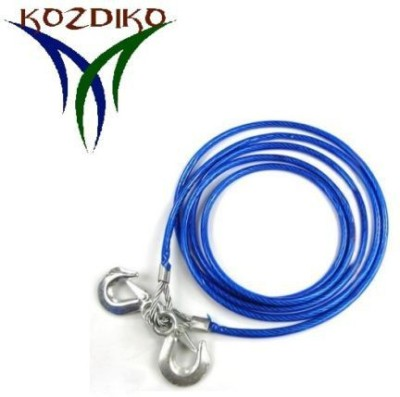 Kozdiko Premium Quality 7000 KGS 12MM 4Mtrs For Hyundai Accent 4 m Towing Cable