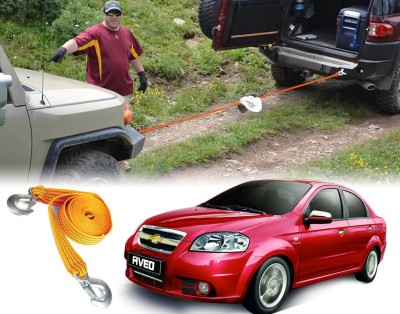 Auto Pearl Car Auto Tow Rope Heavy Duty 3 Ton For - Chevrolet Aveo 2.65 m Towing Cable
