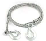 ACCESSOREEZ Silver 4 m Towing Cable (Ste...