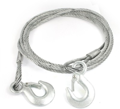 ACCESSOREEZ Silver 4 m Towing Cable