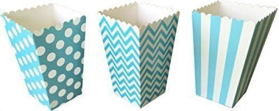 Outside the Box Papers Party Favors Toy Accessory(Outside, Box, Papers, Chevron, Popcorn Multicolor)