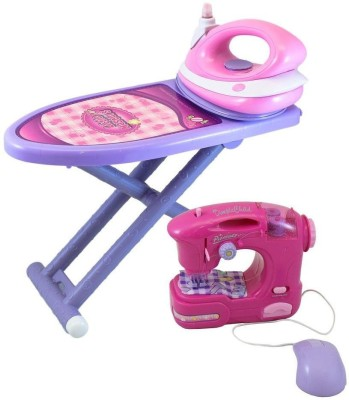 Dimple Ironing, Sewing Set Toy Accessory
