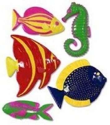 Beistle Event, Party Toy Accessory(Plastic, Fish, Party, Accessory, count Multicolor)