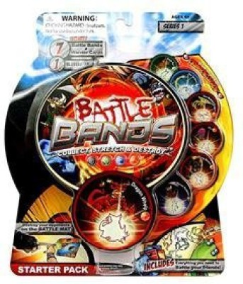 Battle Bands Games Toy Accessory(Battle, Bands, Starter, Inferno Multicolor)