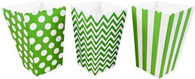 Outside the Box Papers Party Favors Toy Accessory(Outside, Box, Papers, Chevron, Popcorn White)
