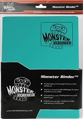 Monster Binder Albums Toy Accessory(Monster, Binder, Pocket, Yugioh, Pokemon Multicolor)