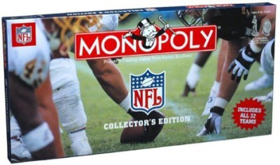 USAopoly Games Toy Accessory(USAopoly, Monopoly, NFL, Collectors, Edition Multicolor)